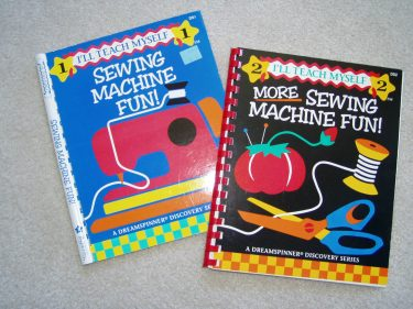 Sewing Machine Fun books