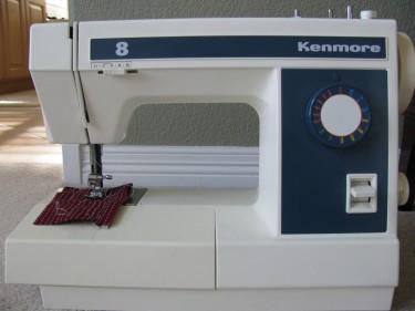 Kenmore machine, 080