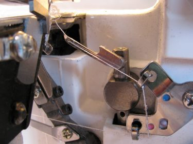 the loopers on my serger, overlocker, 144