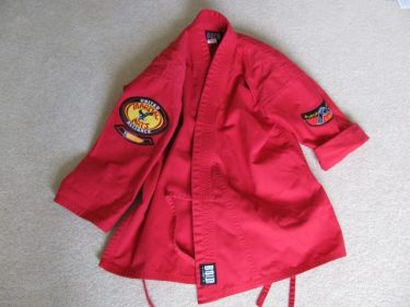 karate uniform, job opportunity