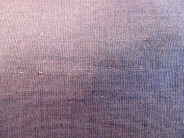 hand stitching from the right side of the fabric, 256