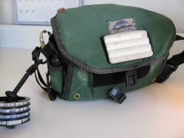 fishing tackle bag, webbing, 298