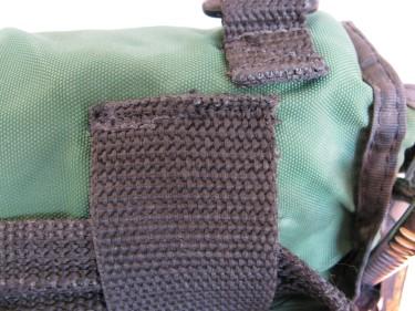 webbing fixed on bag, 301
