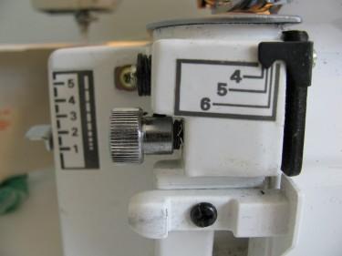 width settings on a serger, 313