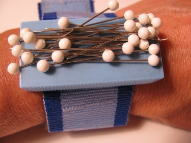 wrist magnetic pin cushion, 568