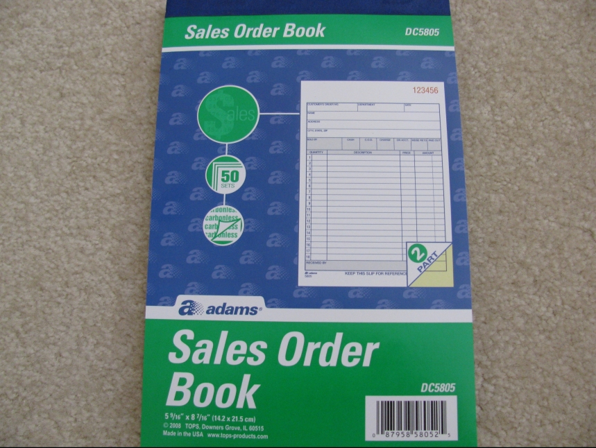 Writing Receipts For Your Customers The Sewing Garden - Making receipts for customers