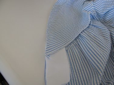 seeing if facing lines up, zippered to buttoned, 367