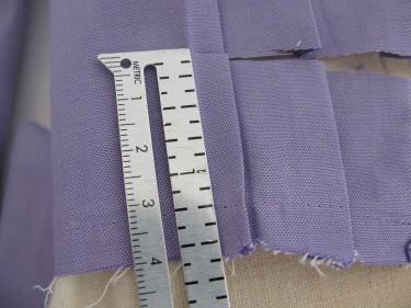 trim off excess, shorten sleeves, 656