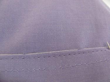 pin shirt to cuff, shortening sleeves, 659