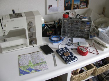 keeping my notions handy, sewing blog 674