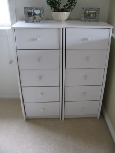 my chest of drawers in my sewing room, sewing blog 678