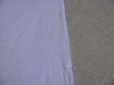 pinning edges for baby blanket, 1026