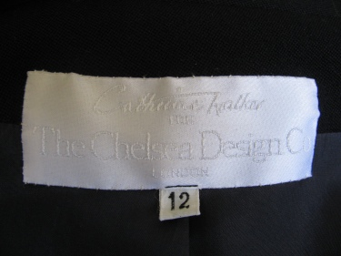 Chelsea Design Co. label, a finely tailored jacket, 1323