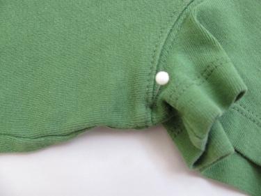pinning t-shirt to make sewing pattern, 1356