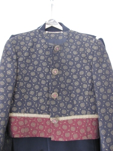front of Anne from England's jacket
