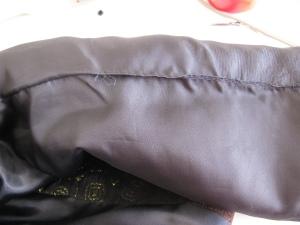 Inside lining of English jacket
