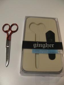 Gingher scissors, 1386