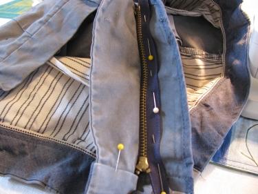 pin jean zipper to tab, 7139