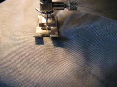 topstitching jean zipper, 7143