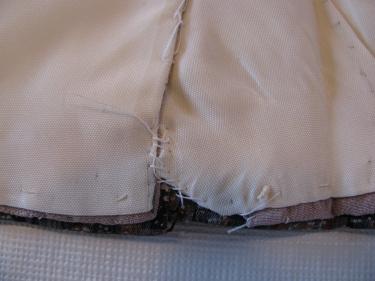 mending stitches inside old kimono, IMG_7690