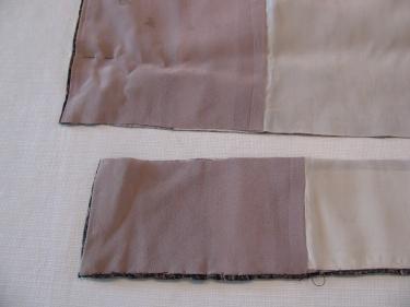 fabric trimmed off of hemline of kimono, IMG_7691