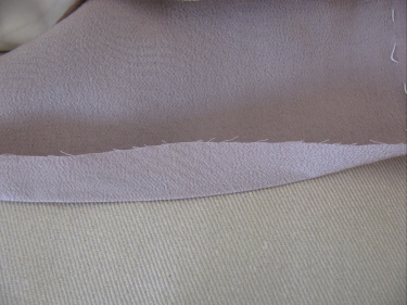pressing up lining fabric to hem kimono, img_7697.jpg