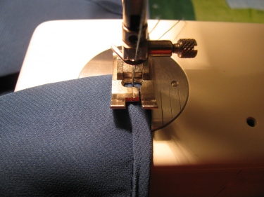 8172, attach the remaining trim by hand or machine, how to raise the waistline on a dress without removing the zipper